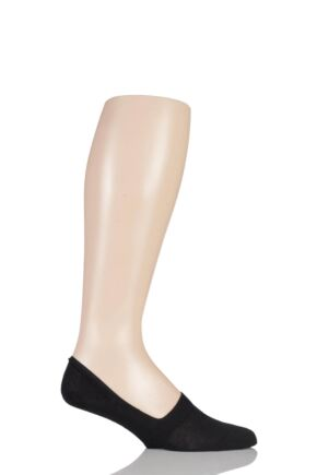 Mens 1 Pair Pantherella Cotton Shoe Liners