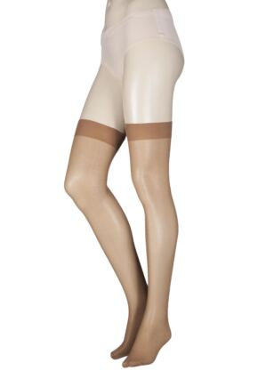 Ladies 1 Pair Elle Stockings 30 Denier 100% Nylon