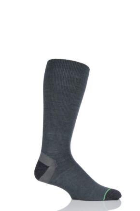 Mens 1 Pair 1000 Mile Tactel Ultimate Light Weight Walking Socks Moss  M