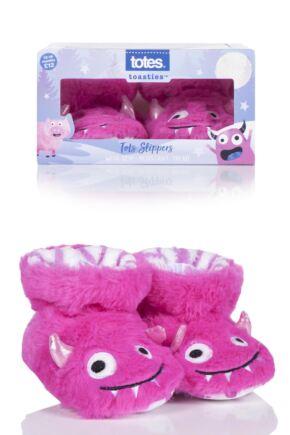 Girls 1 Pair Totes Animal Padders Slipper Socks