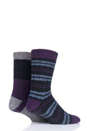 Mens 2 Pair Totes Boot Socks Gift Box