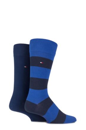 Tommy Hilfiger Rugby Striped Cotton Socks