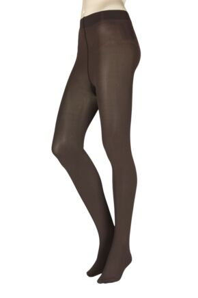 Ladies 1 Pair Falke Pure Matt 100 Tights Brenda Small