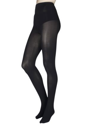Ladies 1 Pair Falke Warm Deluxe 80 Denier Thermal Tights