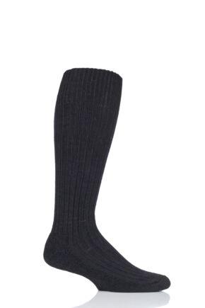 Mens and Ladies 1 Pair SockShop of London Alpaca Cushioned Knee High Walking Socks
