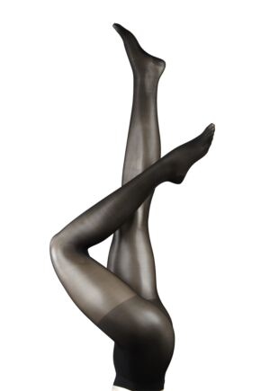 Ladies 1 Pair Falke Support 20 Transparent Tights