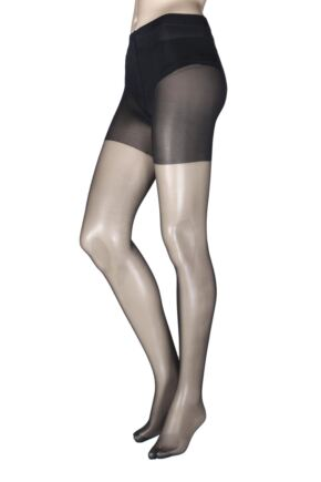 Ladies 1 Pair Falke Shaping Invisible Deluxe 8 Denier Tights