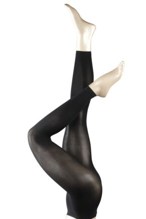 Ladies 1 Pair Falke Pure Matt 50 Leggings
