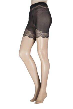 Ladies 1 Pair Falke Crinoline Backseam Tights