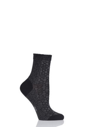Ladies 1 Pair Falke Granite Cotton Socks