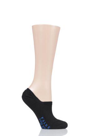 Ladies 1 Pair Falke Cool Kick Invisible Cotton Socks