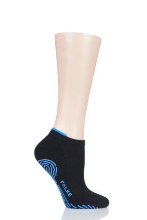 Ladies 1 Pair Falke Relax Pads with Anti Slip Sole Cotton Socks