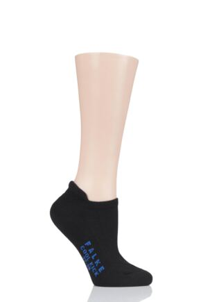 Ladies 1 Pair Falke Cool Kick Cotton Sneaker Socks
