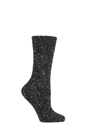 Ladies 1 Pair Falke Casual Feel Alpaca Blend Heavy Weight Socks