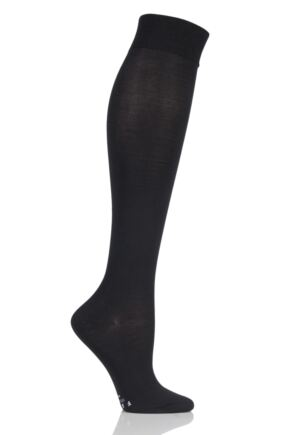 Ladies 1 Pair Falke Medium Leg Vitalizer Compression Socks