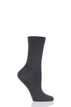Ladies 1 Pair Falke Soft Merino Wool Socks