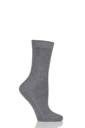 Ladies 1 Pair Falke Cosy Wool and Cashmere Socks