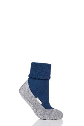 Ladies 1 Pair Falke CosyShoe Slipper House Socks