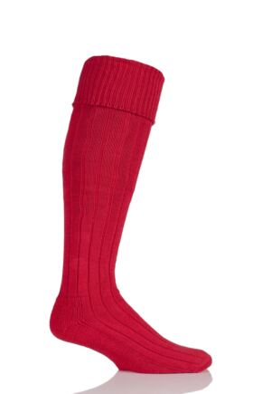 Mens 1 Pair Glenmuir Birkdale Cotton Cushioned Knee High Golf Socks Brigade 12-14