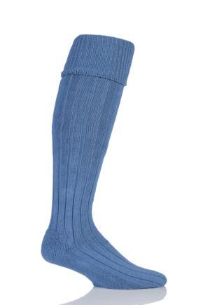Mens 1 Pair Glenmuir Birkdale Cotton Cushioned Knee High Golf Socks