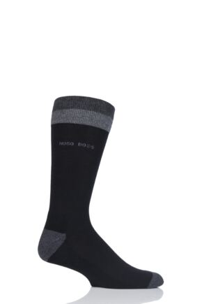 Mens 1 Pair BOSS Finest Soft Cotton Plush Socks