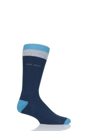 Mens 1 Pair BOSS Finest Soft Cotton Plush Socks