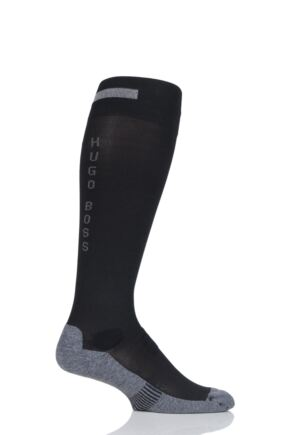 Mens 1 Pair Hugo Boss Performance Sportswear Coolmax Knee High Socks