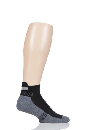 Mens 1 Pair BOSS Performance Sportswear Coolmax Sneaker Socks