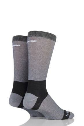 Mens 2 Pair Bridgedale Coolmax Liners For Extra Comfort And Dryness Next To Skin
