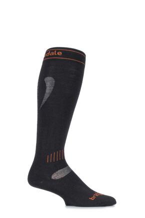 Mens and Ladies 1 Pair Bridgedale Ultra Fit MerinoFusion Lightweight Ski Socks