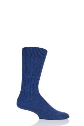fdd3d4fa30c Mens 1 Pair Pantherella 85% Cashmere Rib Socks