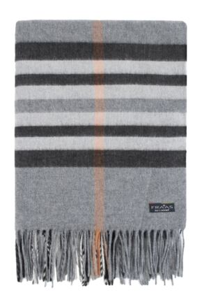 Mens and Ladies Fraas Cashmink Check Scarf