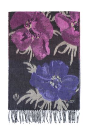 Fraas Cashmink Bright Flowers Scarf