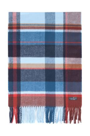 Fraas Cashmink Large Check Scarf