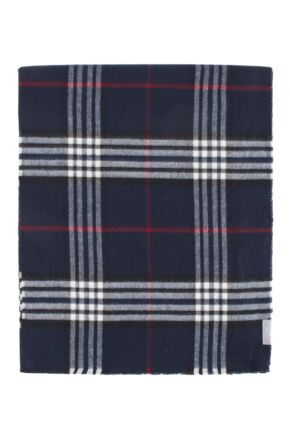 Mens and Ladies Fraas Tartan Checked Cashmink Scarf