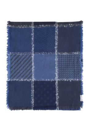 Fraas 100% Virgin Wool Blend Patchwork Scarf