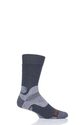 Mens 1 Pair Bridgedale Mid Weight Merino Wool Hiking Socks