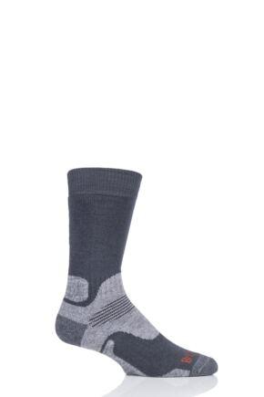 Mens 1 Pair Bridgedale Endurance Trekker Socks For Extended Trekking and Hiking