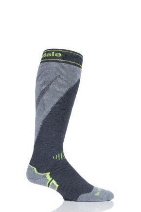 Mens 1 Pair Bridgedale Merino Endurance Midweight Ski Socks