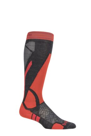 Mens and Ladies  1 Pair Bridgedale Merino Performance Light weight  Ski Socks