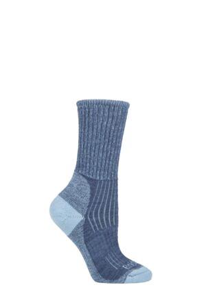 Ladies 1 Pair Bridgedale New Comfort Trekker Socks For All Season Hiking