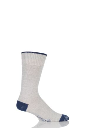 Corgi Heavyweight Wool Contrast Heel, Toe and Tipping Socks