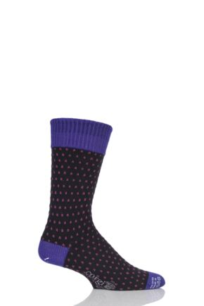 Corgi Heavyweight Wool Pindot Socks