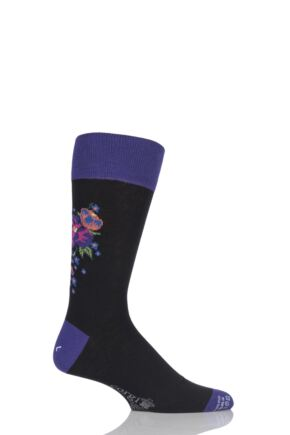 Corgi Lightweight Cotton Floral Socks