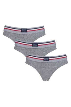 Ladies 3 Pack Jockey Bikini Knickers