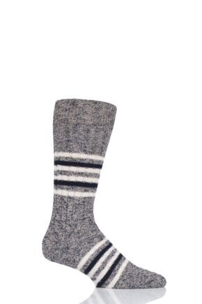 Mens 1 Pair Pantherella Phoenix Eco Luxe Recycled Plastic and Recycled Cotton Socks