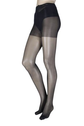 Ladies 1 Pair Calvin Klein Sheer Essentials Active Tights with Control Top