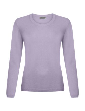 Ladies Great & British Knitwear 100% Extrafine Lambswool Round Neck Jumper Gaudi Medium