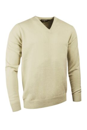 Mens Great & British Knitwear Made In Scotland 100% Cashmere V Neck