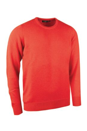 Mens Great & British Knitwear Made In Scotland 100% Cashmere Crew Neck